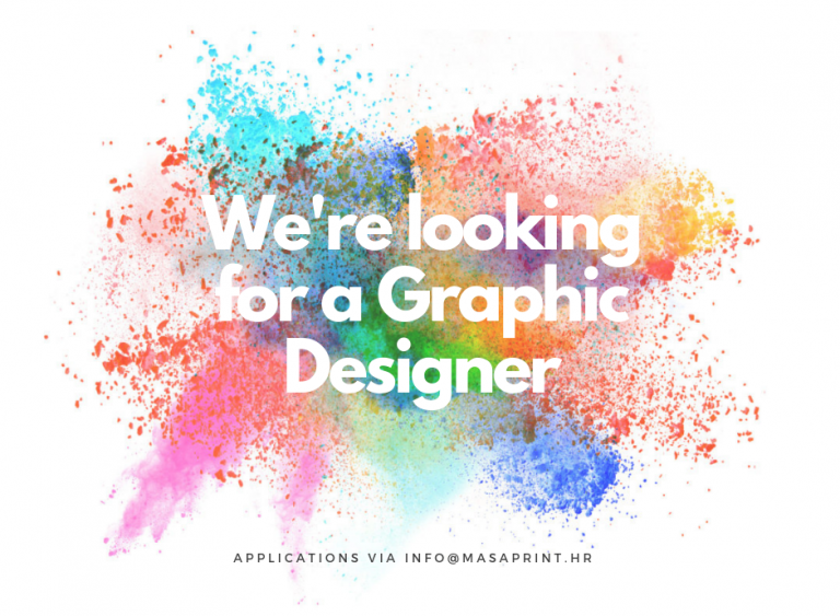 Were looking for a graphic designer