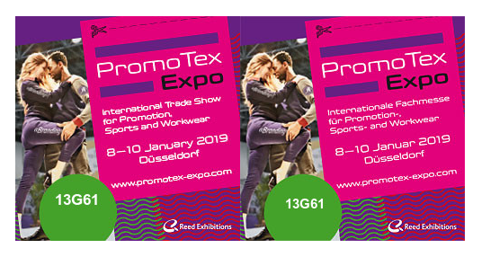 PromoTex EXPO BOOTH 13G61